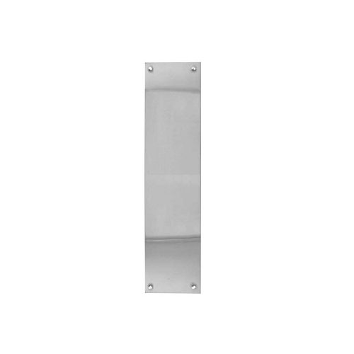 Finger / Push Plates - Polished Stainless Steel